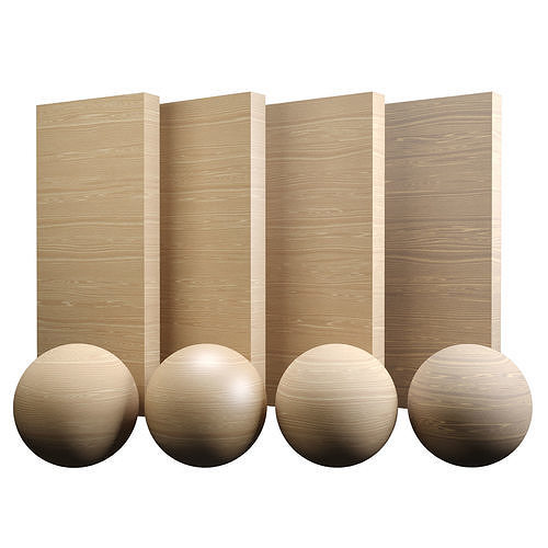 Fine Oak Wood Varnished Texture PBR Vray Corona Blender