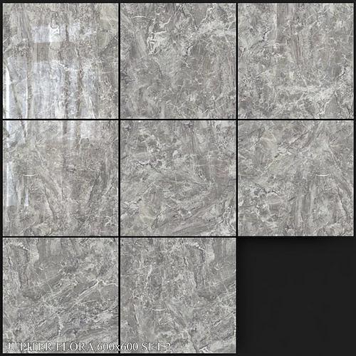 Yurtbay Seramik Jupiter Flora 600x600 Set 2