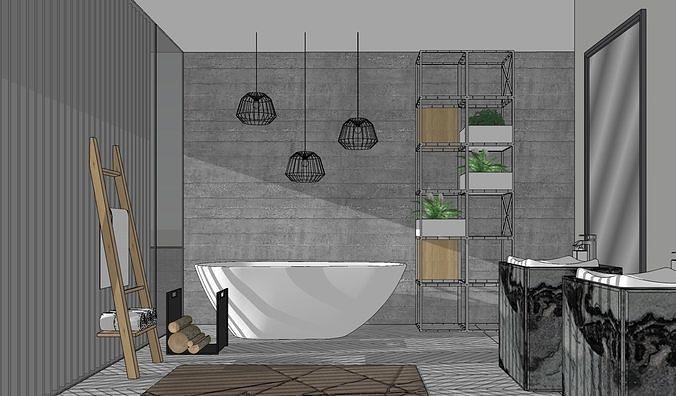 Bathroom modern