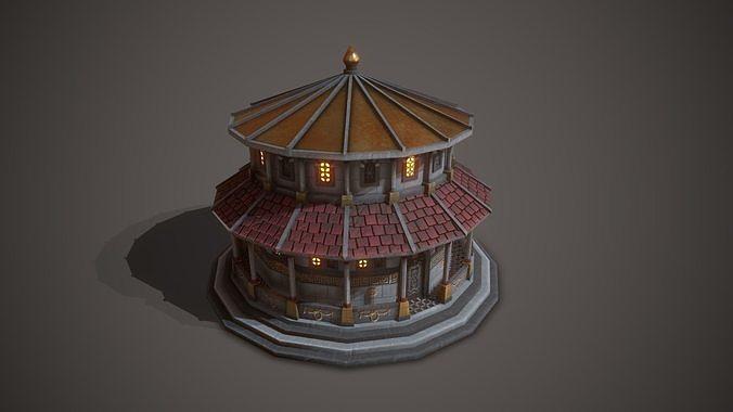 Ancient Temple Saturn