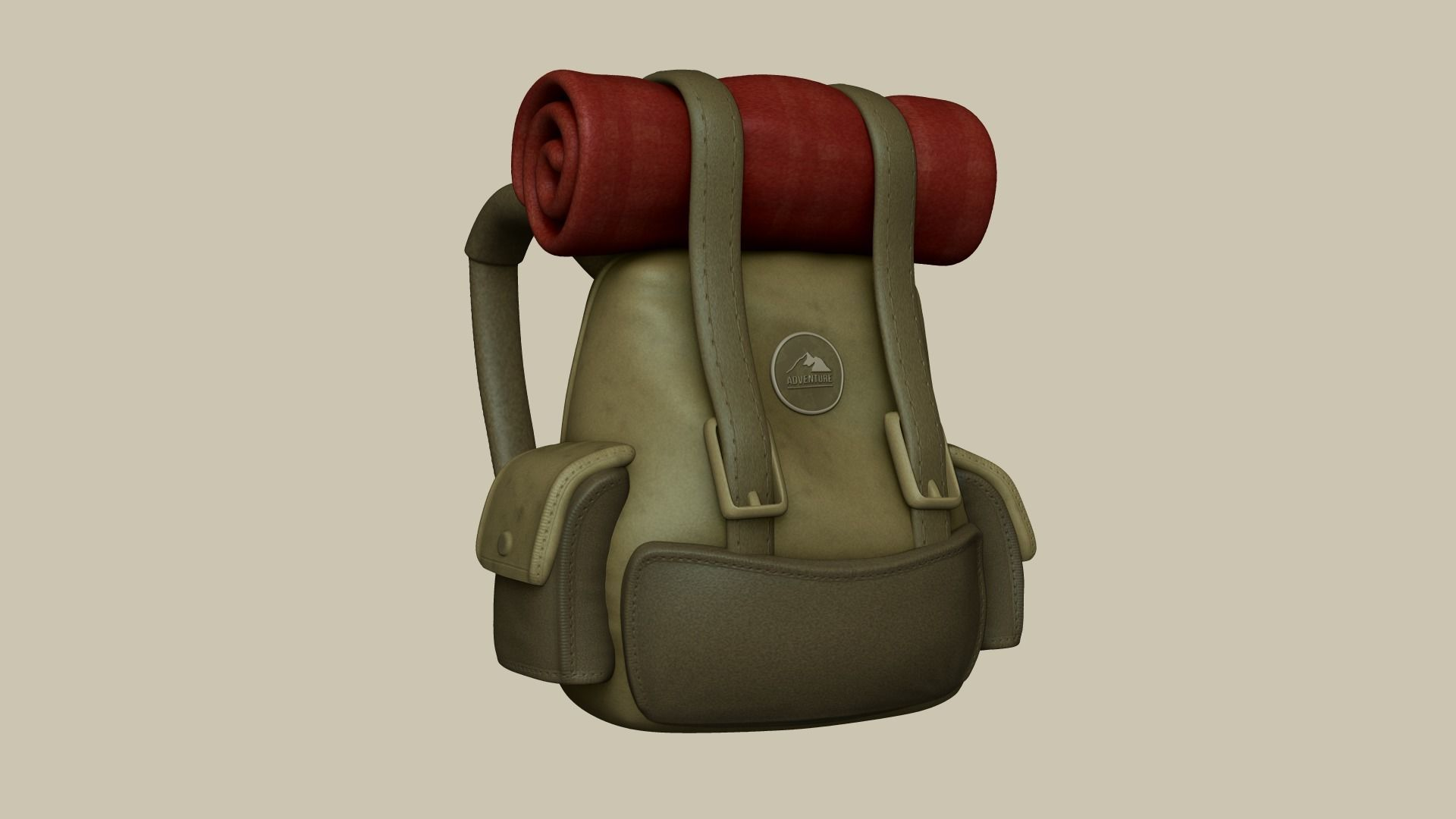 Camping Adventurer Backpack - Character Costume