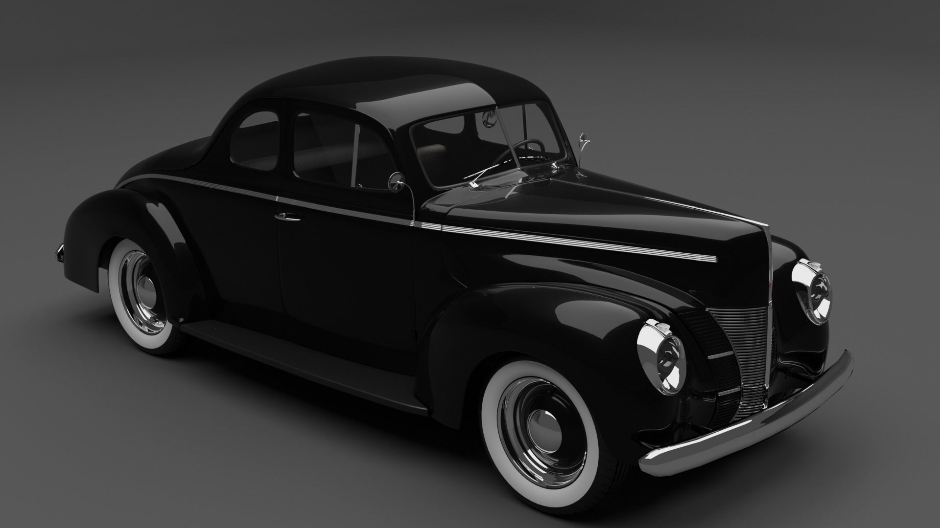 Ford Deluxe coupe 1940