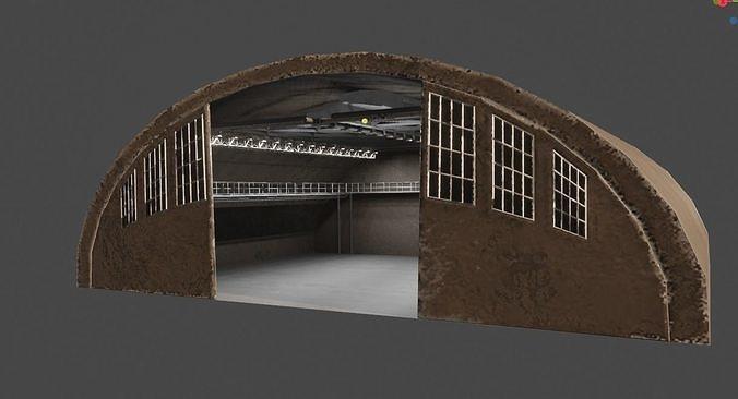 Hangar Interior