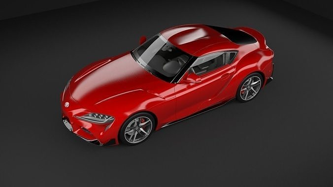 Toyota Supra 2019 3D MODEL