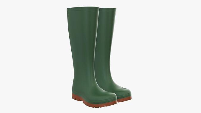 Rubber boots waterproof