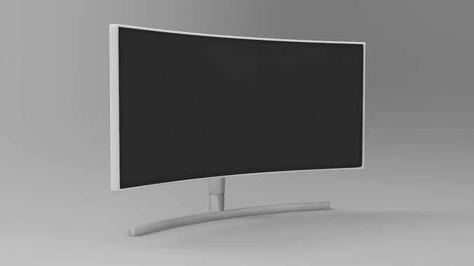 Monitor Low Poly