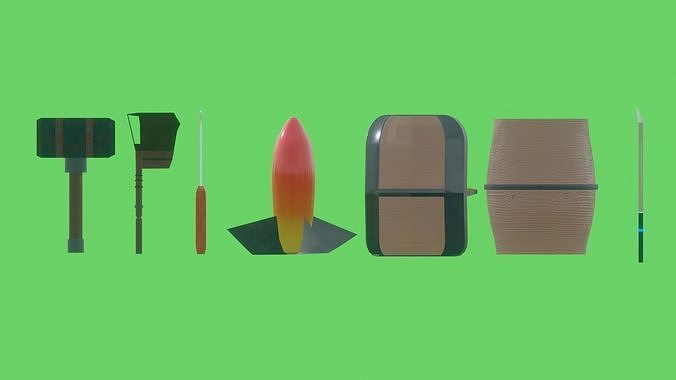 Action asset pack