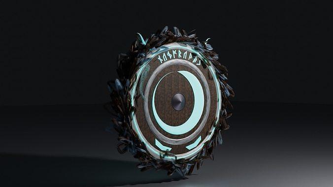 Stylized Nordic Shield