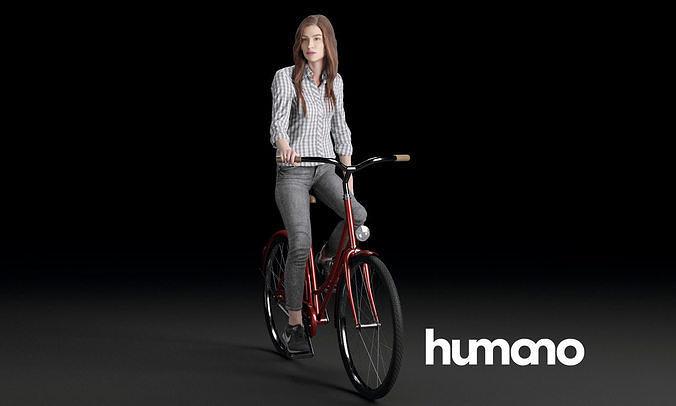Humano Biking Woman 0708