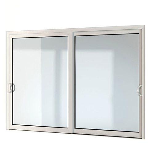 modern double window 18 am109 3d model obj 1