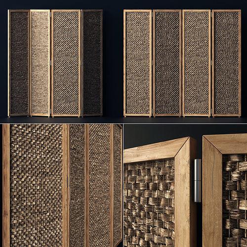 Wood screen decor n1