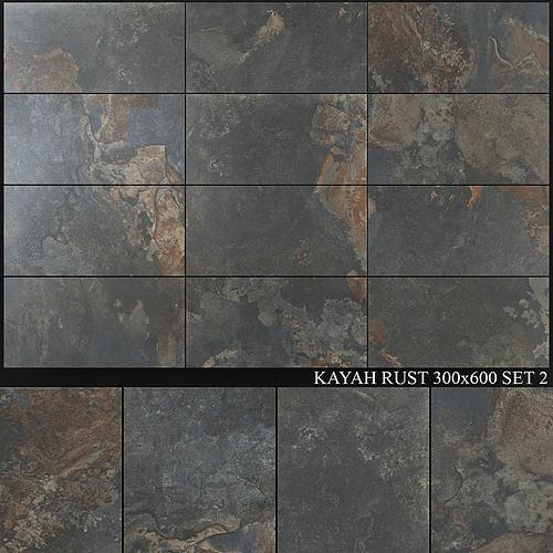 Yurtbay Seramik Kayah Rust 300x600 Set 2