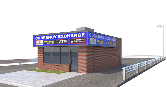 Commercial Building-028 Currency Exchange