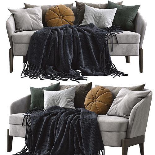 Molteni end C CHELSEA Fabric sofa