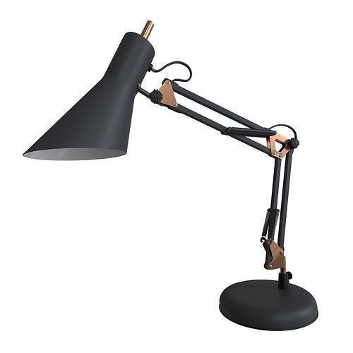 Norden 01032-1 black office table lamp