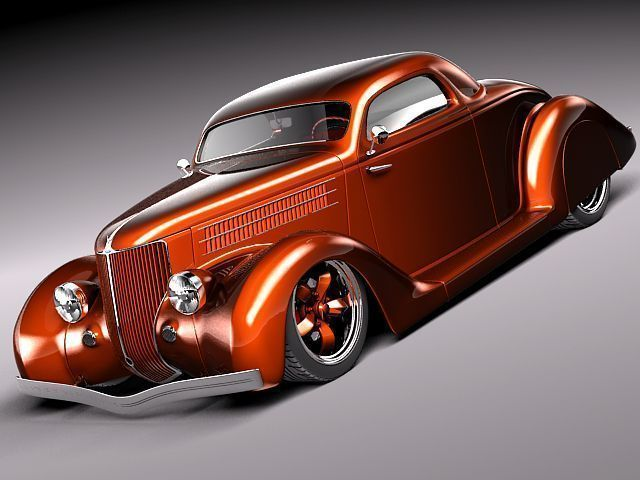 Custom StreetRod HotRod 1936