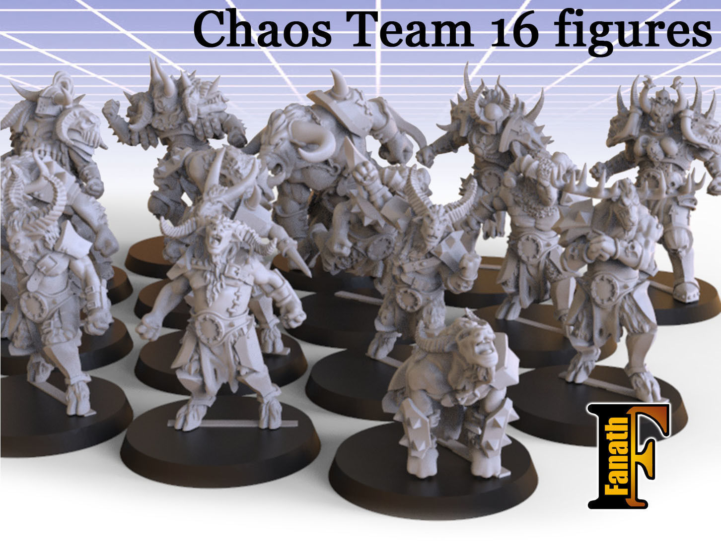 Chaos Team 16 figures