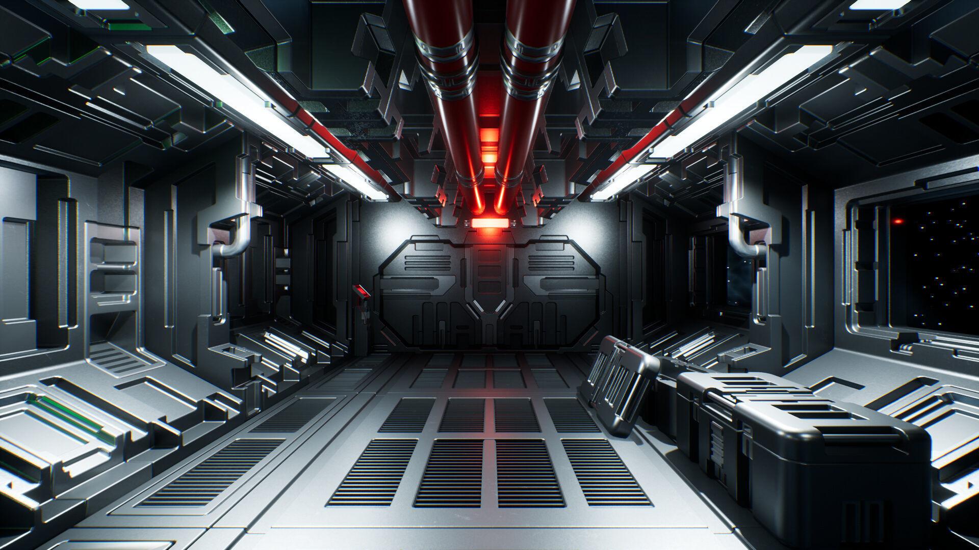 Modular Sci-Fi Interior II