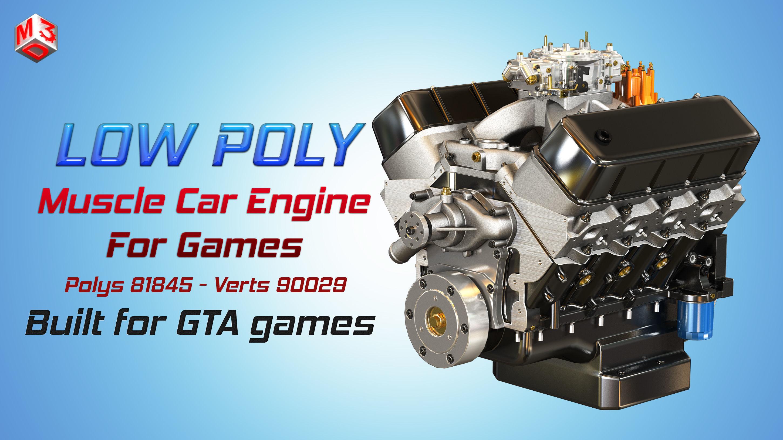 CNC-Motorsports Engine - V8 Muscle Cars Engine