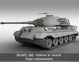 3d panzerkampfwagen vi - ausf b - king tiger