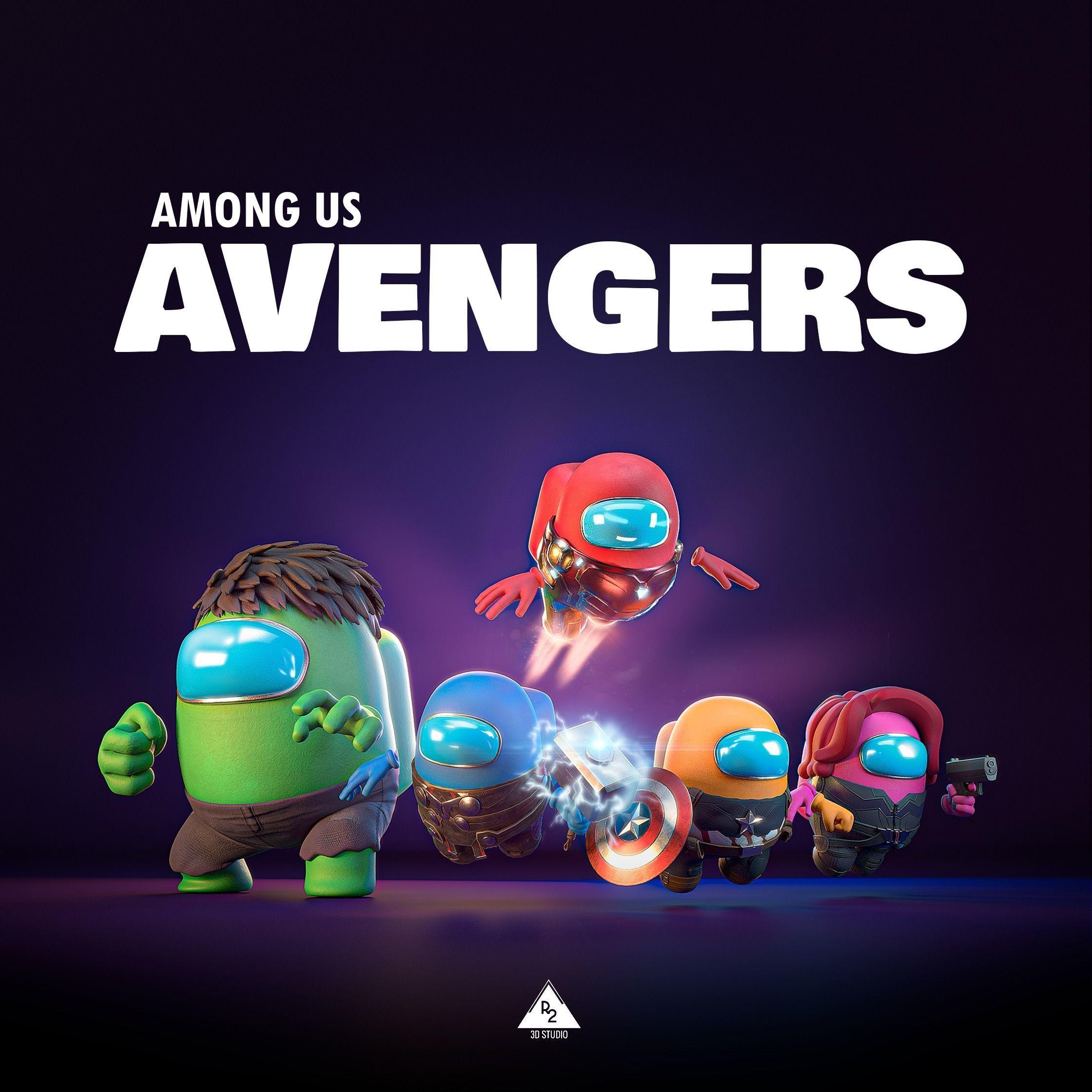 Among Us - Avengers Pack
