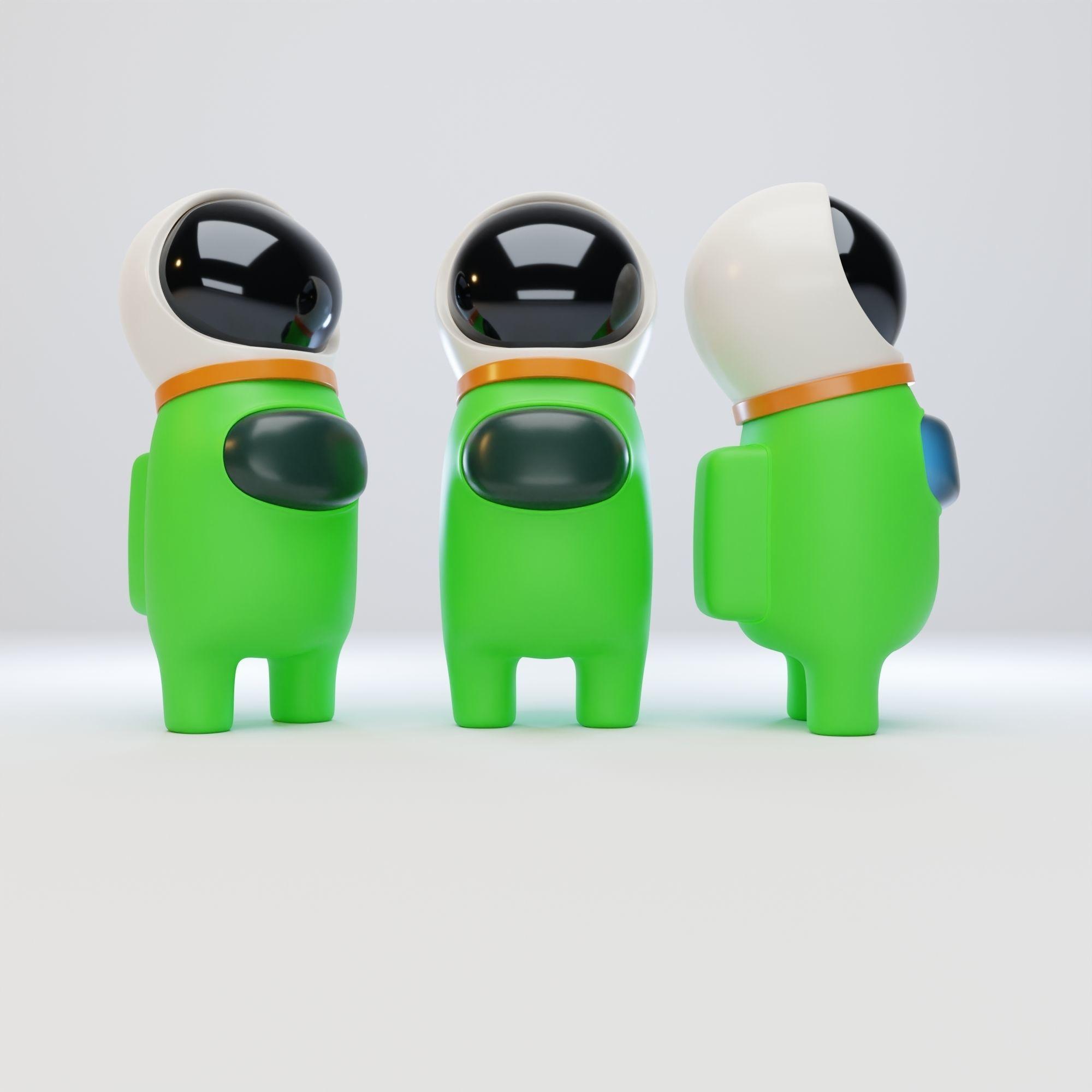 Among Us Astronaut Helmet Character