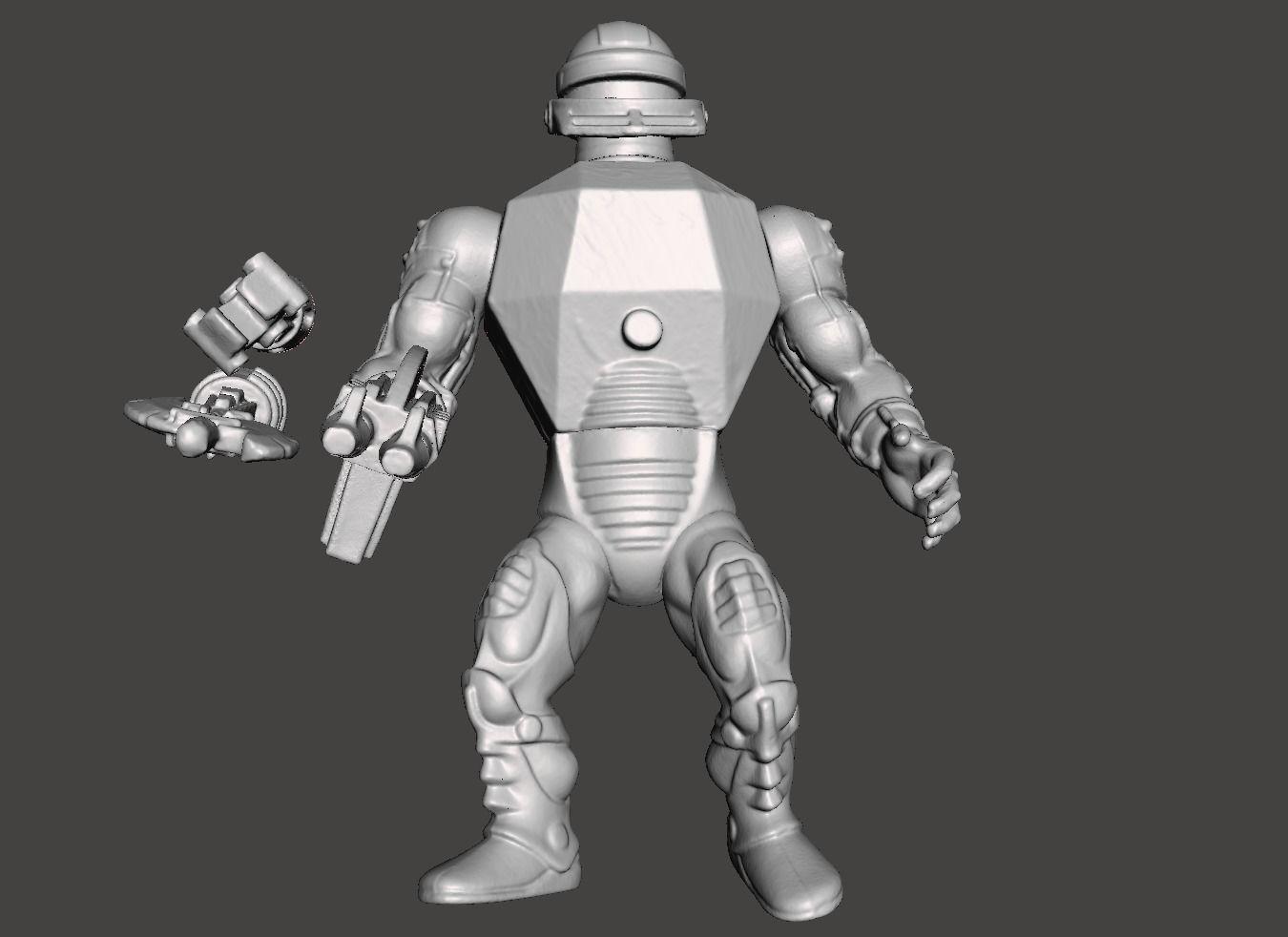 ROBOTO MOTU VINTAGE ACTION FIGURE COMPLETE