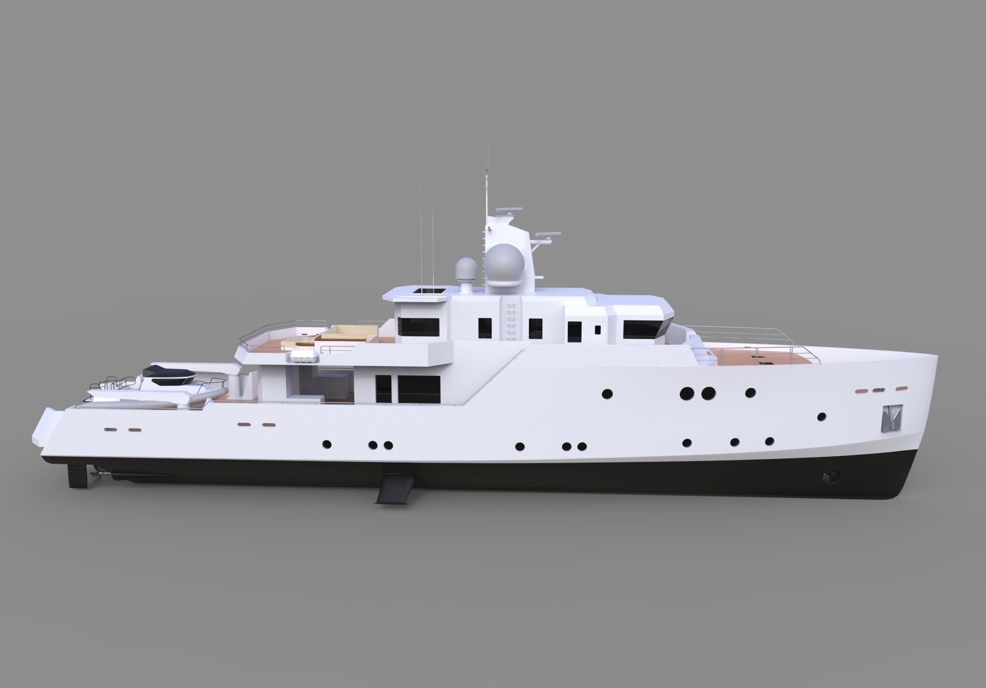 Concept Luxury Yacht