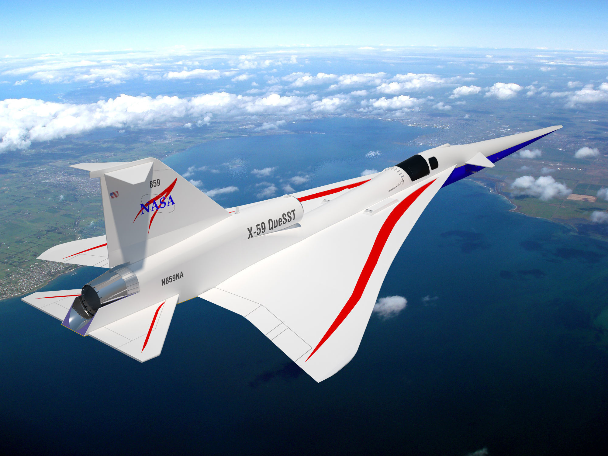 NASAs X - 59 Supersonic Aircraft