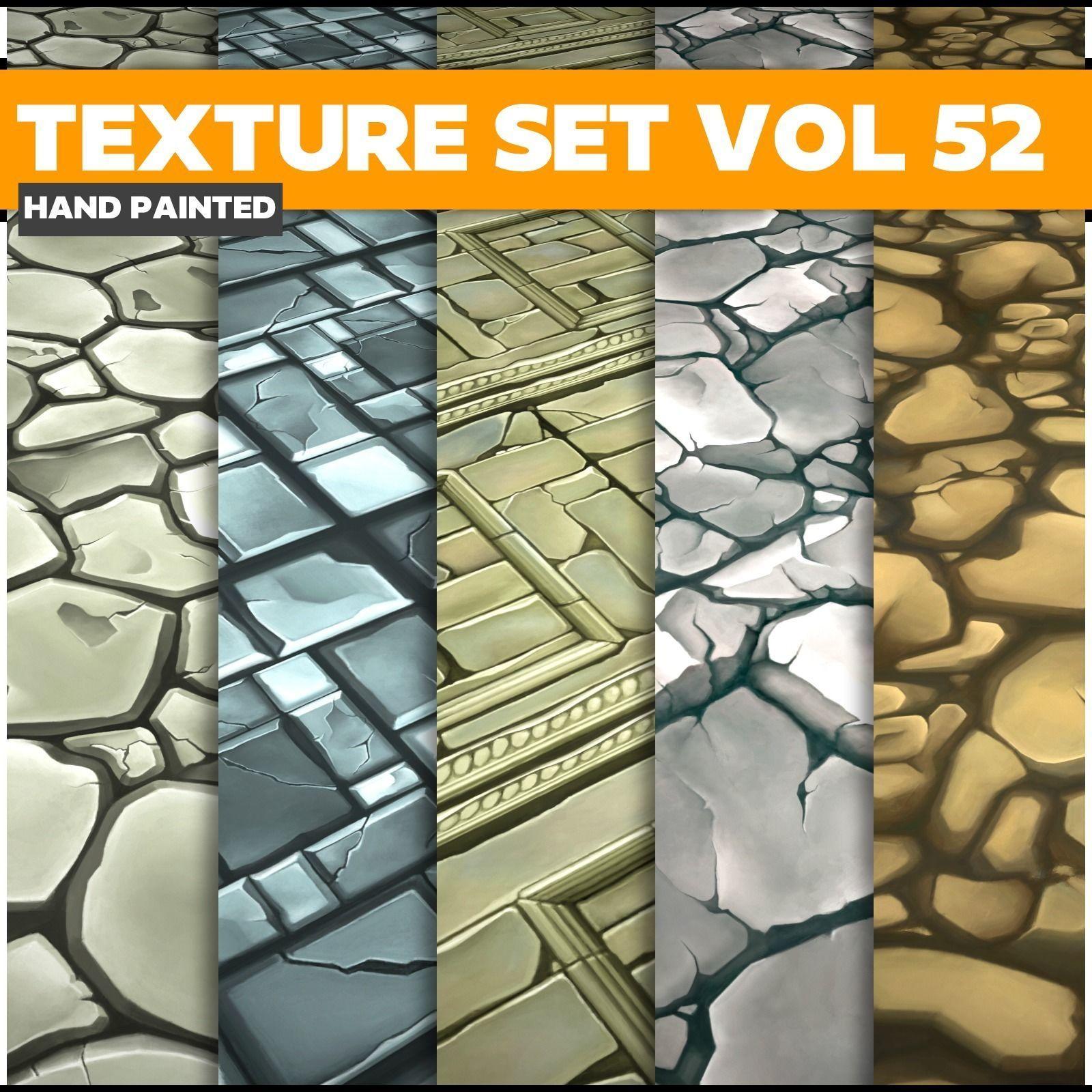 Floor Vol 52 - Game PBR Textures