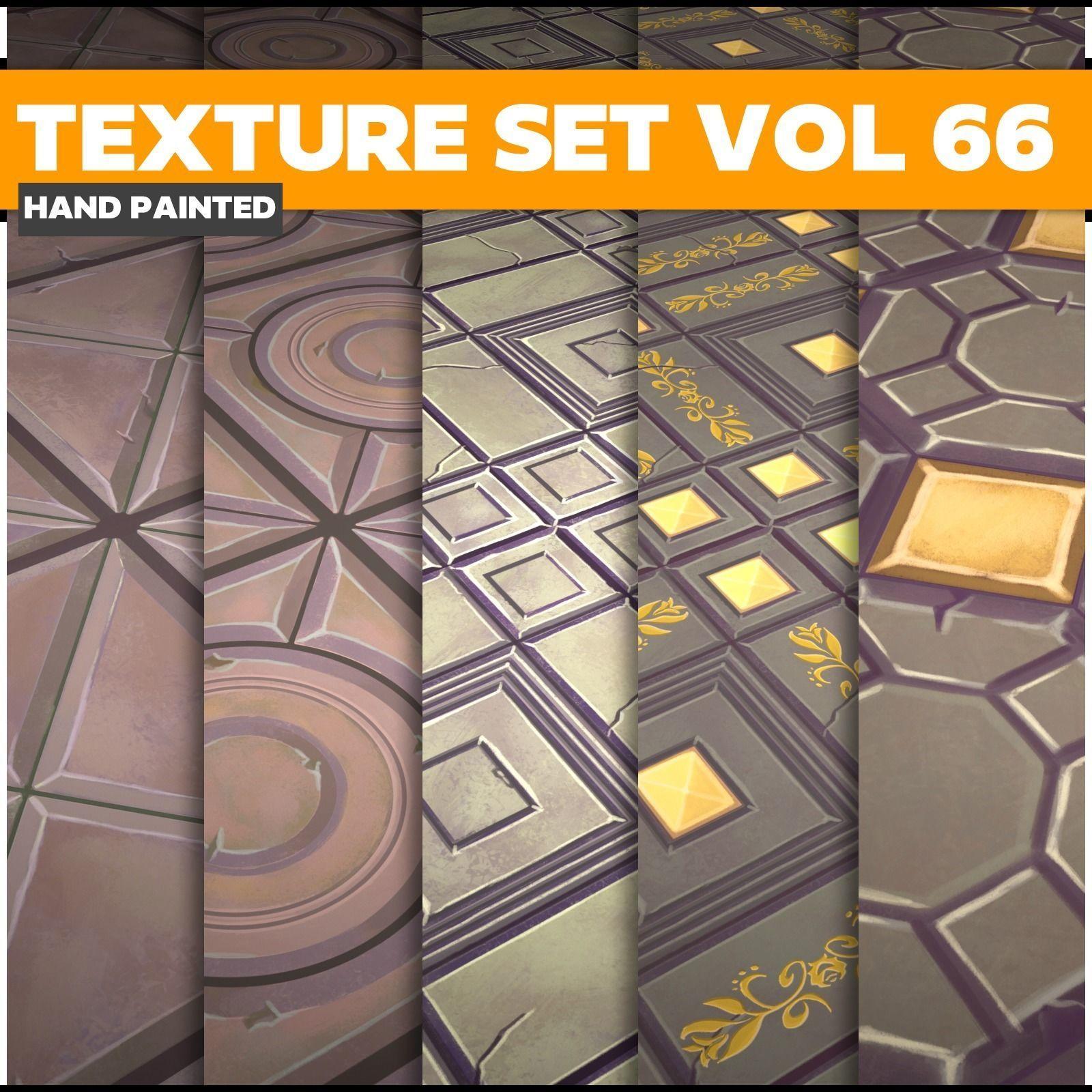 Tiles Vol 66 - Game PBR Textures