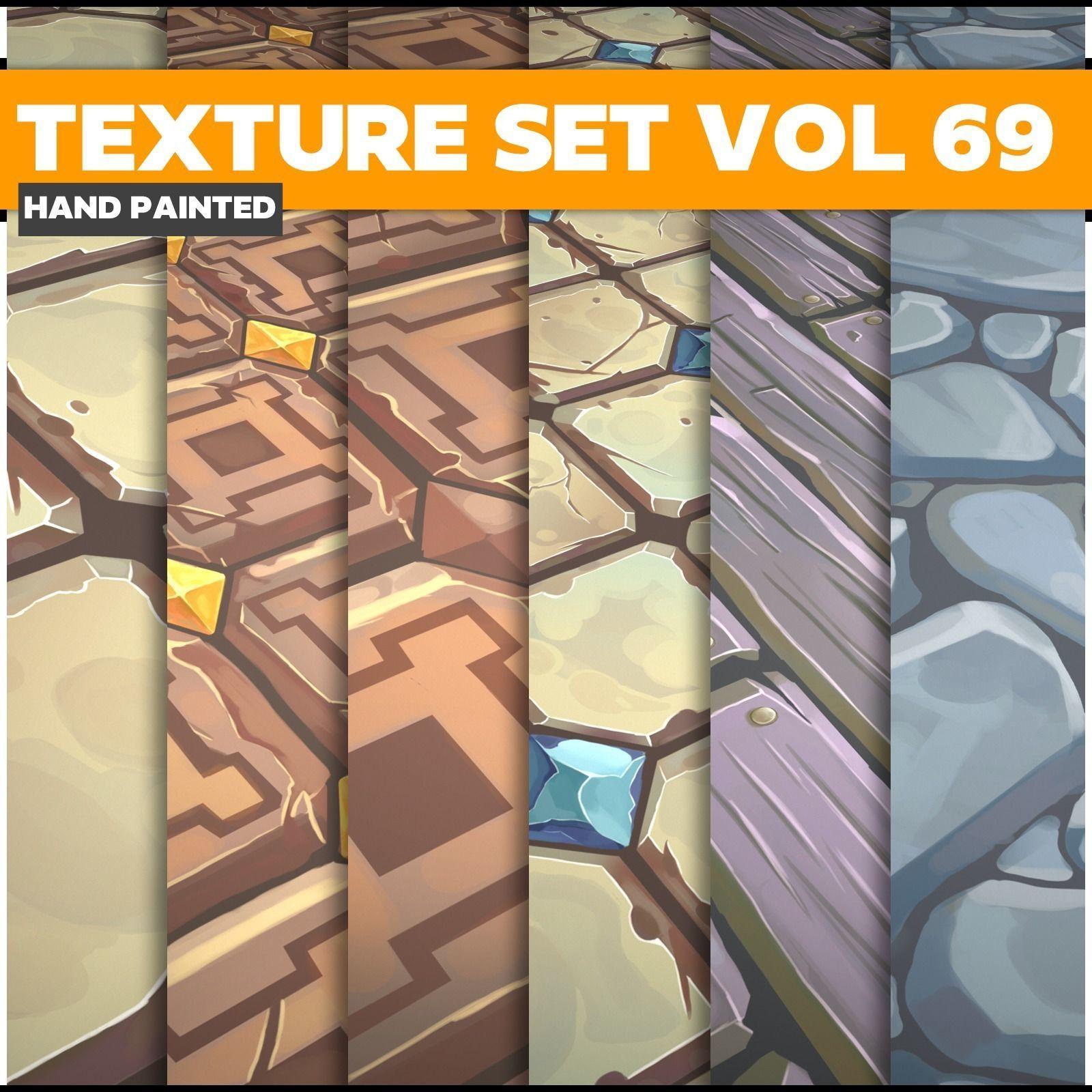 Tiles  Vol 69 - Game PBR Textures
