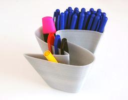 S Vase Free 3D Model