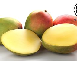 photo realistic mangos 3d