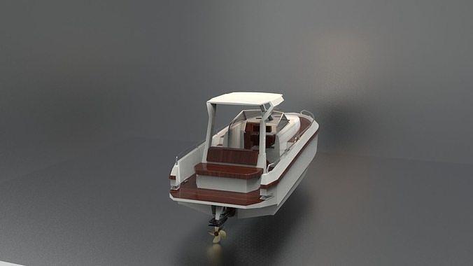 Boat white