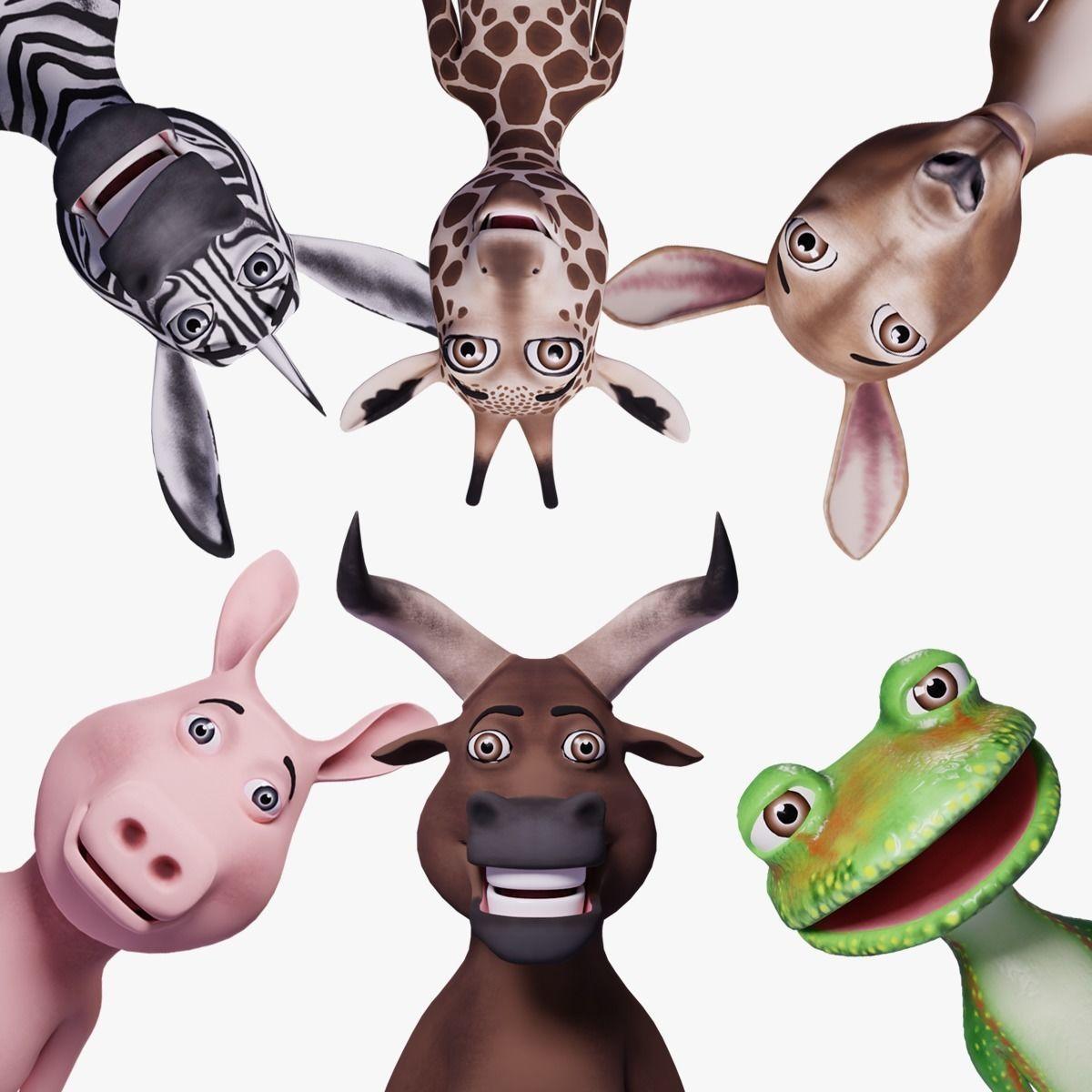 Toon Humanoid Animals Vol 2