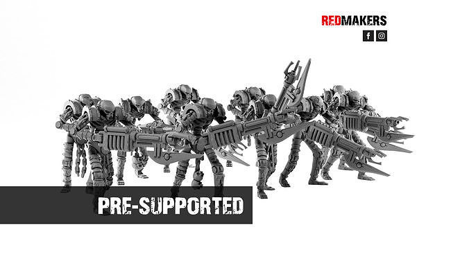 Robotic Warriors from the Tomb World
