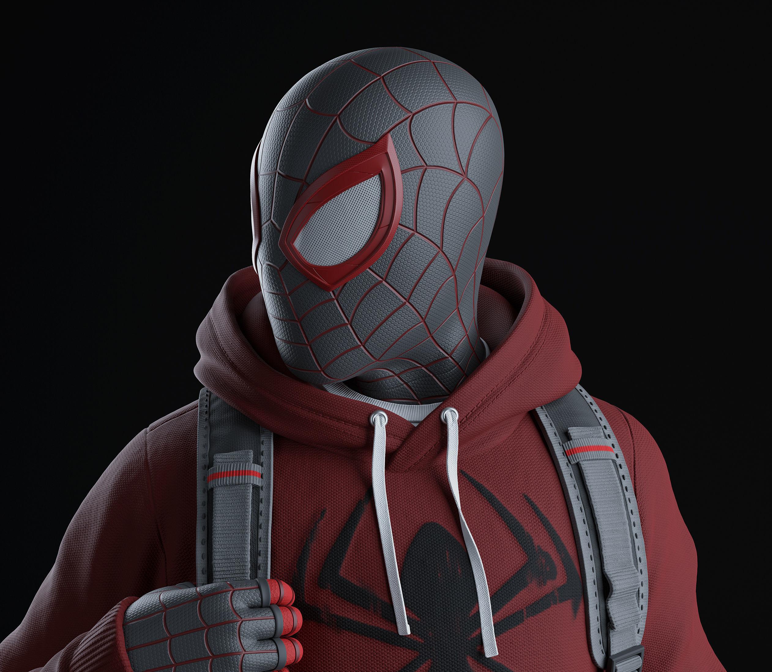 Spider-Man Miles Morales - Statue