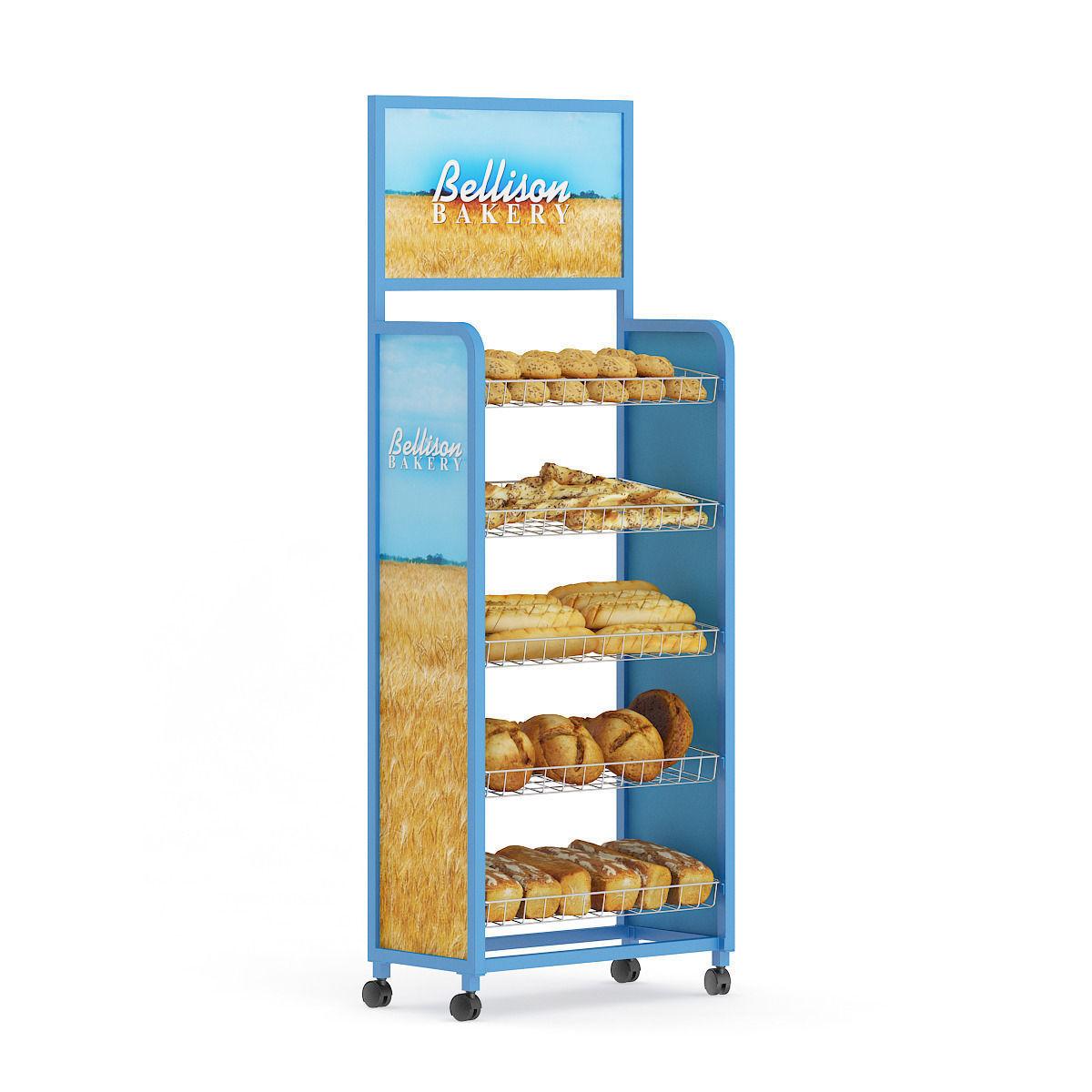 Market Shelf  Breads