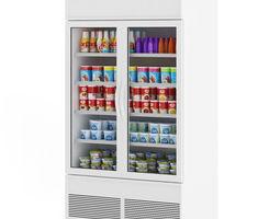 3D model Market Refrigerator