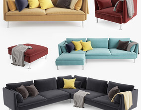 Sofa Collection 3D model room