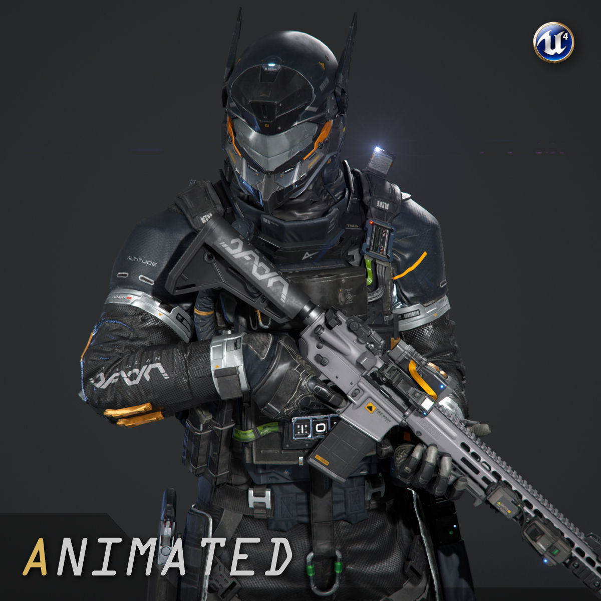 SCIFI - URBAN SOLDIER