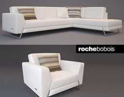 Free sofa couch 3d models get free 3d sofa couch model for Canape poltrone e sofa