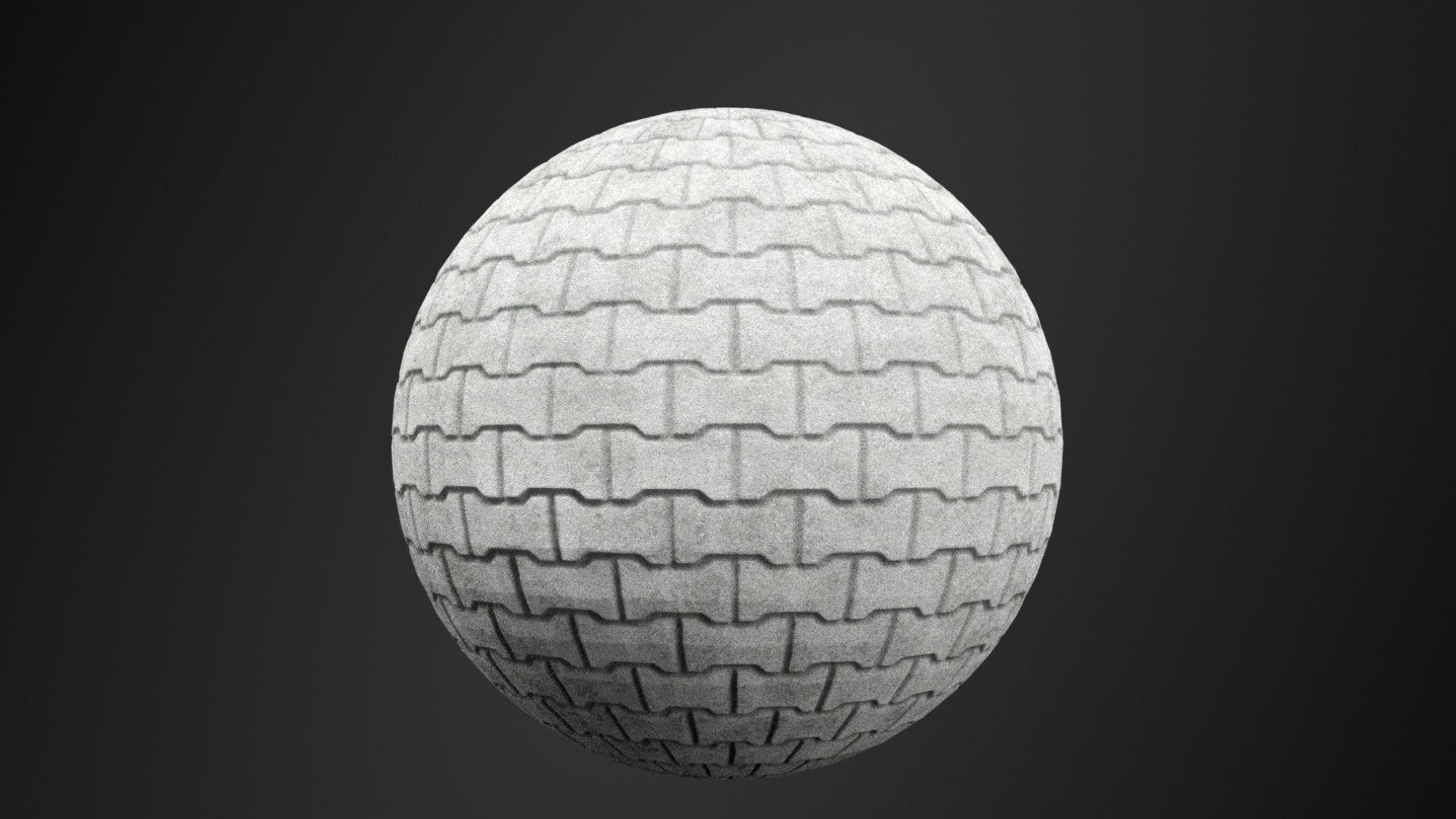 3D model Paving Block texture  CGTrader