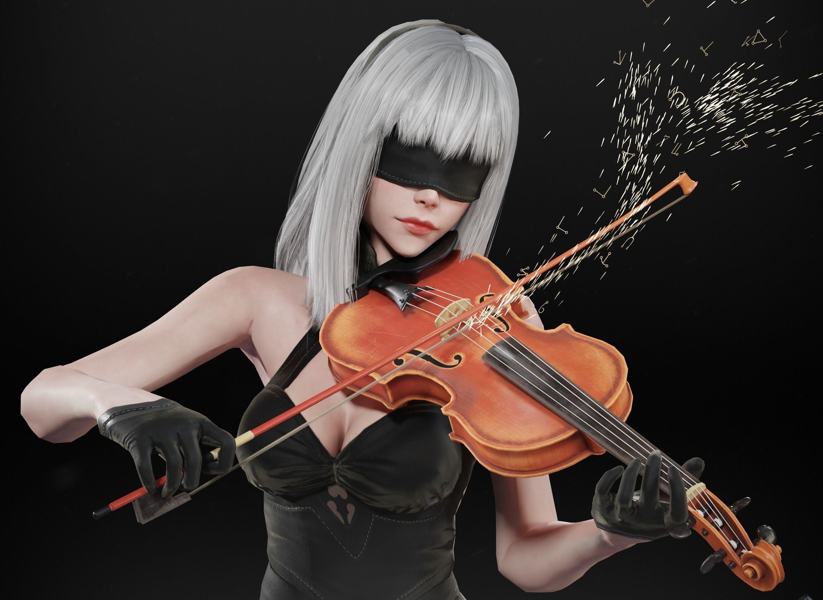 10E - The Violinist