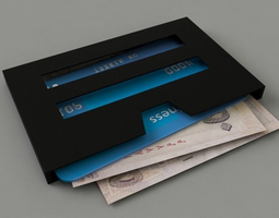 3d print model wallet windows