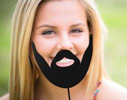 Beard stick gillete 3D printable model