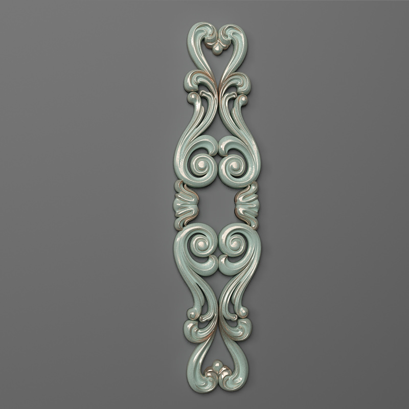 Decor vertical 06 3d model 3d printable stl for Decor 3d model