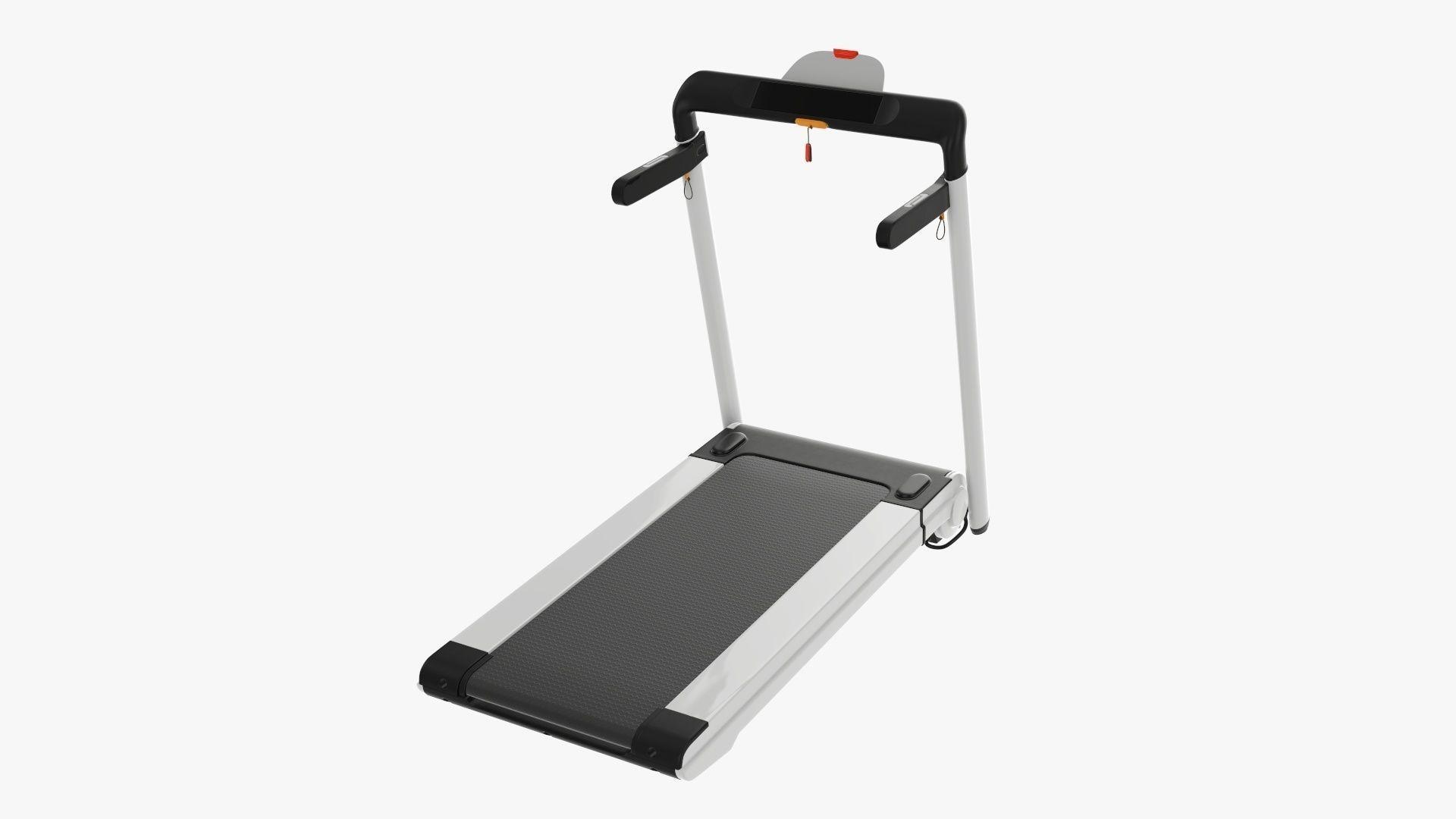 Compact treadmill foldable