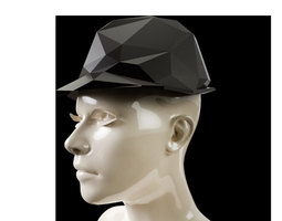 3D printable model LowPoly Trilby Hat